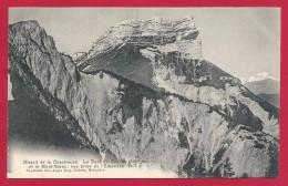 CPA Dauphiné - Massif De La Chartreuse - La Dent De Crolles Et Le Mont-Blanc - Vue Prise De L'Émendra - France