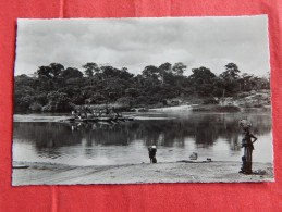 CONGO BELGE -  Passage D'un Bac - Ruanda-Urundi