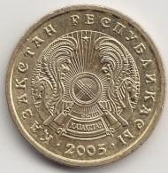 @Y@    Kazachstan   1 Tenge   2005     (3840) - Kazachstan