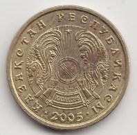 @Y@    Kazachstan   1 Tenge   2005     (3841) - Kazachstan