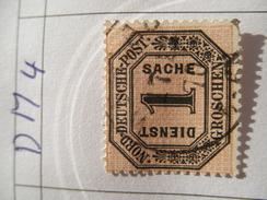 Nord Deutsche Bund Michel Ꙩ Dienst 4 - North German Conf.