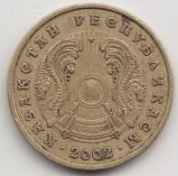 @Y@    Kazachstan   5 Tenge   2002     (3848) - Kazachstan