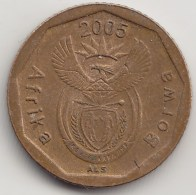@Y@    Afrika   Borwa   10 Cent  2005     (3853) - Monnaies