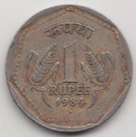 @Y@    India   1 Rupee  1984     (3854) - India
