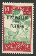 Wallis And Futuna, 4 C. 1930, Sc # J12, MH - Unused Stamps