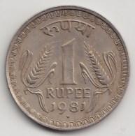 @Y@    India   1 Rupee  1981    (3862) - India