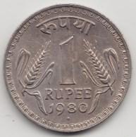 @Y@    India   1 Rupee  1980    (3863) - India