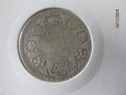 British India 1/2 Rupee 1943 - Inde