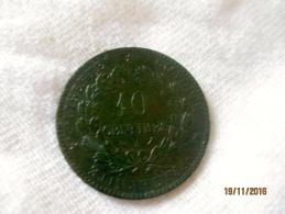 France 10 Centimes 1896 - France