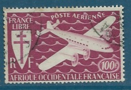 AOF  - Aérien   Yvert N° 3  Oblitéré  Ava 15209 - Used Stamps