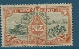Nouvelle Zélande    - Yvert N° 277    Oblitéré Ava 15230 - Used Stamps
