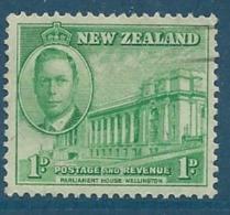 Nouvelle Zélande    - Yvert N° 273    Oblitéré Ava 15234 - Used Stamps