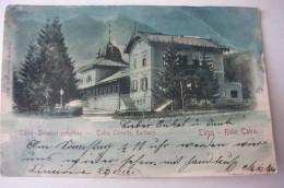 Hohe Tatra, Lomnitz, Lomniczi, Kurhaus, Us. 1899, Bent - Slovaquie
