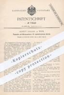 Original Patent - A. Sailler , Wien , 1893 , Flammofen Mit Wärmespeicher | Ofen , Öfen , Ofenbauer , Heizung , Feuerung - Historische Dokumente
