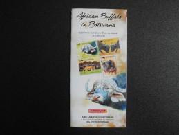 Botswana 2015 - Stamps Promotion Folder - The Big 5: African Buffalo - Botswana (1966-...)