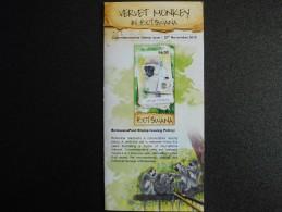 Botswana 2015 - Stamps Promotion Folder - Vervet Monkey - Botswana (1966-...)