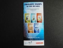Botswana 2016 - Stamps Promotion Folder - Stamps On Stamps (bird Craft Art History Personalities) - Botswana (1966-...)