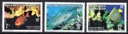 POLYNESIE - YT N° 147 à 149 - Neuf ** - MNH - Cote: 3,95 € - Polynésie Française