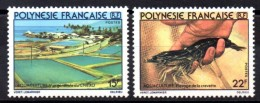 POLYNESIE - YT N° 150 à 151 - Neuf ** - MNH - Cote: 3,60 € - Neufs
