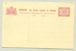 Curacao - 1926 - 10+10 Cent Briefkaart Cijfer Vürtheim, G34 Ongebruikt - Curaçao, Nederlandse Antillen, Aruba