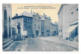 CHAMPAGNAC LE VIEUX ( Cpa 43)  Cure D'Air - Le Monument Aux Morts -    - L 1 - Andere Gemeenten