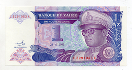 Zaire - 1993 - Banconota Da 1 Nuovo Zaire  - Nuova -  (FDC1694) - Zaire
