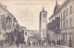 Braine-le-Comte - Le Bas De La Rue De Bruxelles (belle Animation,  Phototypie Belge PhoB, 1930) - Braine-le-Comte