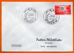 94 CHOISY LE ROI   L'HOMME ET L'ESPACE  1974 Lettre Entière N° X 480 - Covers & Documents