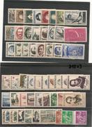 France 1957  Année Complète N°Y/T:1091/1141** Côte: 111,00 € - 1950-1959