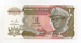 Zaire - 1993 - Banconota Da 1 Nuovo Likuta  - Nuova -  (FDC1695) - Zaire