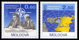 MOLDOVA 1994 EVENTS Partnership With NATO - Fine Set MNH - Moldavia