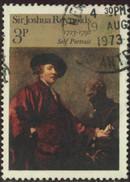 GB Yv. N°687 - Tableau De J. Reynolds - 3p Autoportrait - Oblitéré - 1902-1951 (Re)