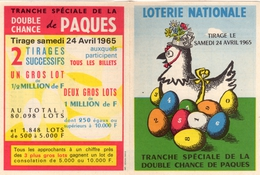 PUBLICITE: LOTERIE NATIONALE A VOIR (9cm X 12cm) - Publicidad