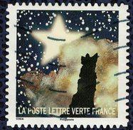 France 2016 Oblitéré Used Correspondances Planétaires Quatrième Timbre - France