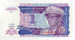 Zaire - 1993 - Banconota Da 1 Nuovo Zaire  - Nuova -  (FDC1698) - Zaire