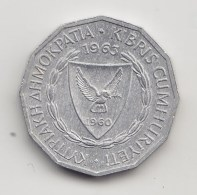 @Y@  Cyprus   1 Mil  1963   (3865) - Chypre