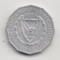 @Y@  Cyprus   1 Mil  1963   (3865) - Cyprus