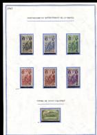 Reunion *  N° 180 à 185 - 186   Rattachement à La France  - - Réunion (1852-1975)