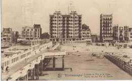 Blankenberghe - L'entrée Du Pier Et La Digue - Ingang Van Den Pier En Zeedijk - Circulé En 1935 - Animée - TBE - Blankenberge