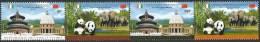 Côte D'Ivoire 2013 China Cooperation Panda Elephant Cathedral Palace Set Mint MNH - Ivoorkust (1960-...)