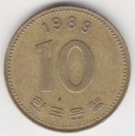 @Y@   Zuid Korea  10 Won   1989        (3646) - Korea (Zuid)