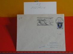 Marcophilie > Lettre > Flamme > 12 Aveyron > St Afrique - La Tradition Culinaire, Ses Dolmens - 1958 - - Oblitérations Mécaniques (flammes)