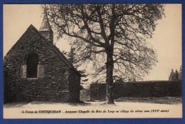 56 GUER COETQUIDAN Camp, Ancienne Chapelle Du Bois Du Loup Au Village Du Meme Nom XVIe Siècle - Guer Coetquidan
