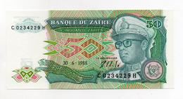 Zaire - 1988 - Banconota Da 50 Zaires  - Nuova -  (FDC1701) - Zaire