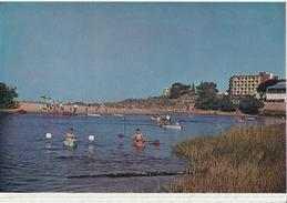 CANOES AT MARGATE LAGOON - South Coast Natal, South Africa. - Afrique Du Sud