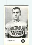 Mat GERRITS - Equipe BATAVUS -  Cyclisme - 2 Scans - Cyclisme