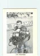 Jo WOUTERS ,  Autographe Manuscrit -  Cyclisme - 2 Scans - Cyclisme
