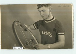 René LENS -  Cyclisme - 2 Scans - Cyclisme