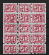 CHINA → 1940 Used Stamps, Without Gum, Nice Multiples - 1912-1949 République