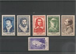 France 1956   N°Y/T:1066/1071** Côte: 51,00 € - France